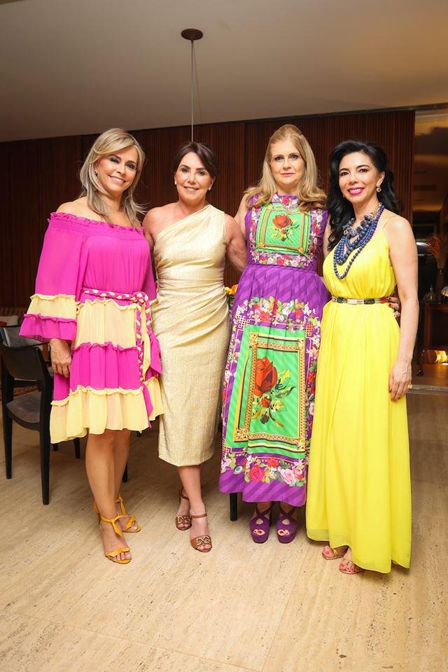 Denise Zuba, Mônica Fonseca, Glaucia Benevides e Suely Nakao