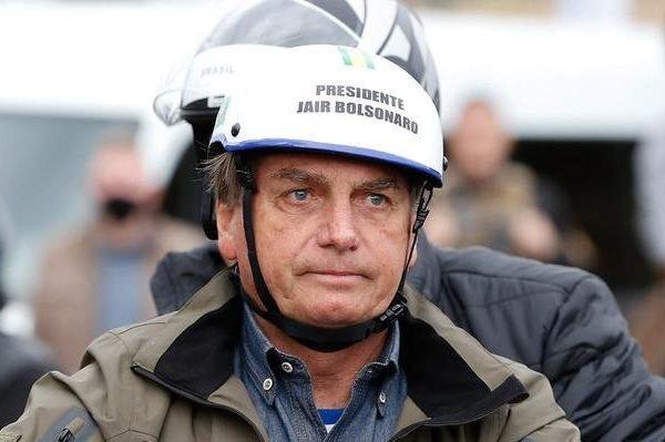 Jair Bolsonaro em motociata