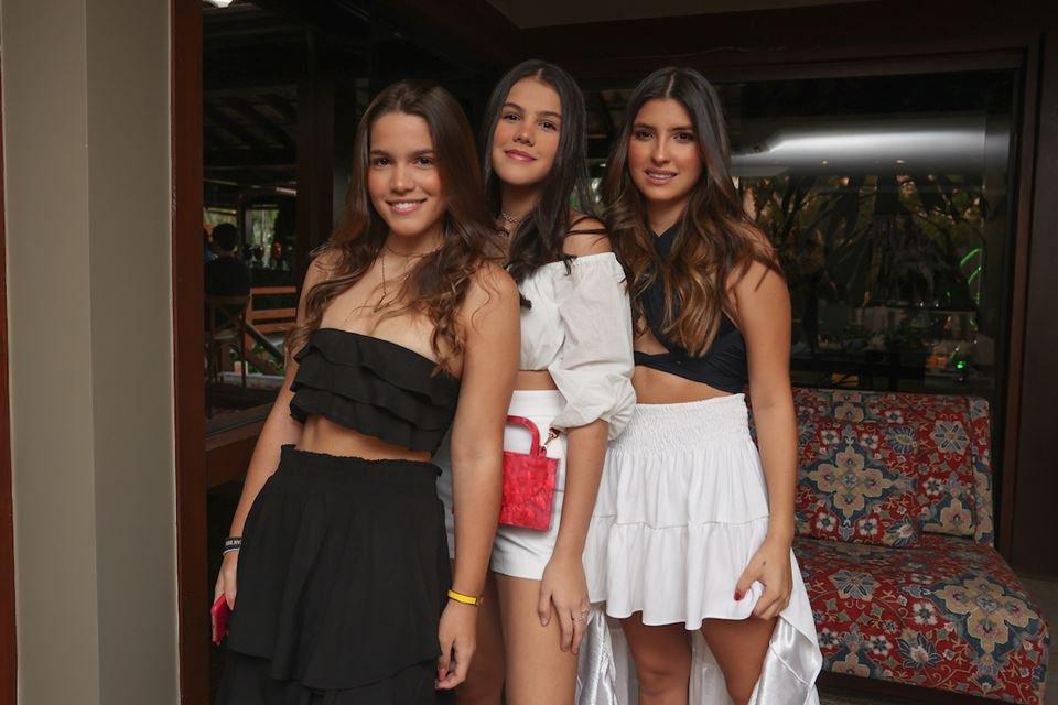 Valentina Elias, Maria Luisa Gonçalves e Maria Julia Maia