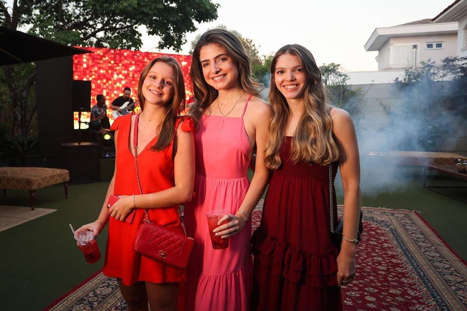 Giovanna Guerra, Ana Clara Spegiorin e Ana Clara Matos