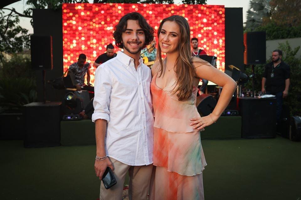 César Canhedo e Maria Eduarda Lemos