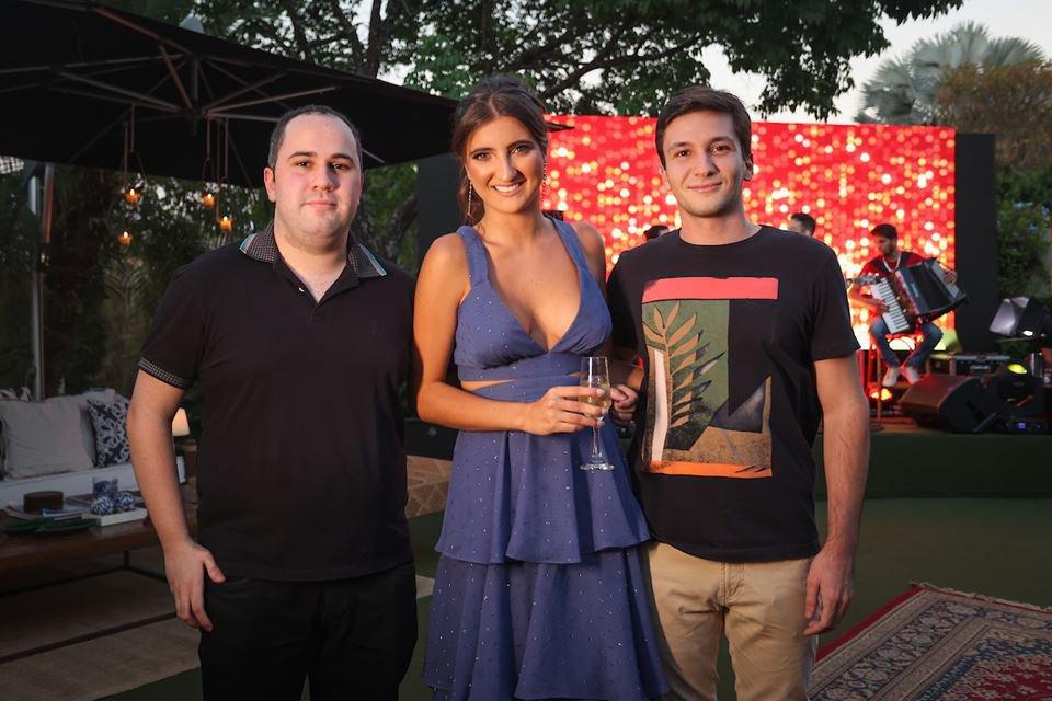 Antônio Cristóvão, Maria Eduarda Maia e João Zanetti