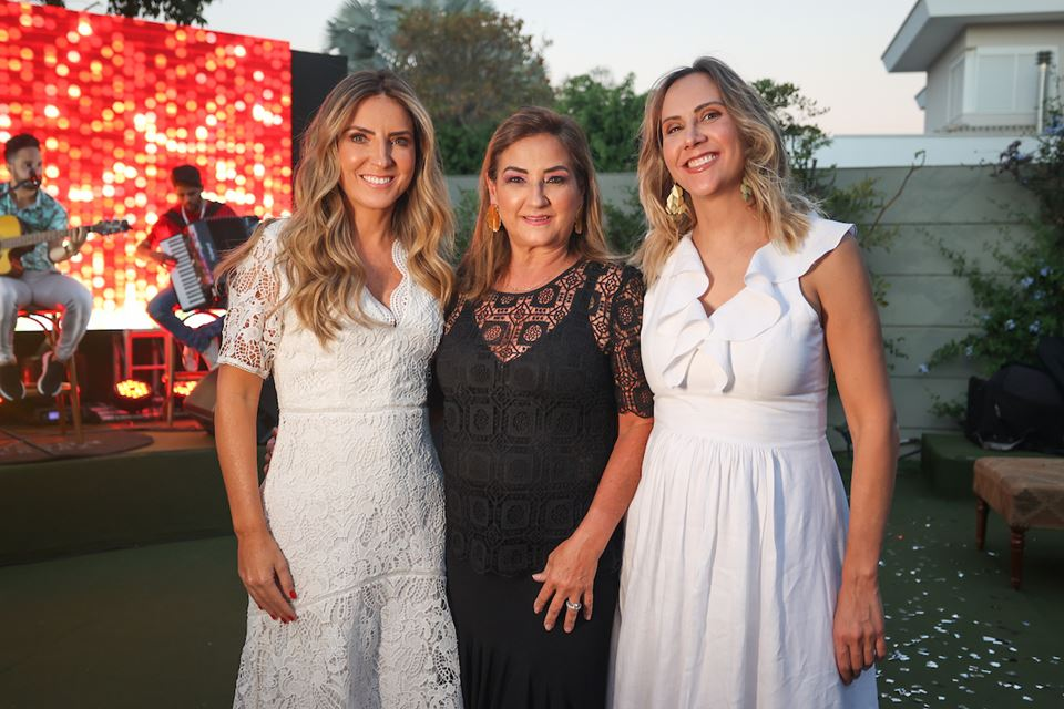Lorena Maia, Patrícia Almeida e Patrícia Monteiro