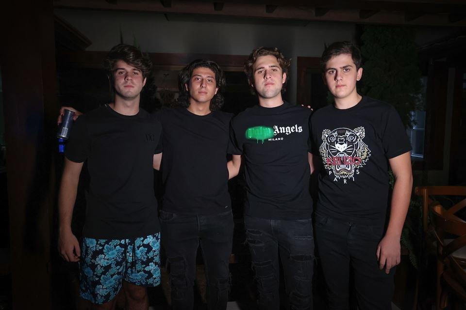 Ricardo Rezende, Pedro de Paula, Nazih Skaf e David Skaf