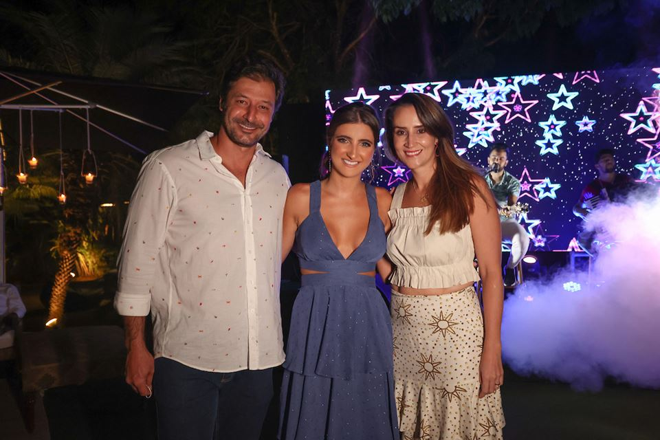 Neto Silva, Maria Eduarda Maia e Maila Silva