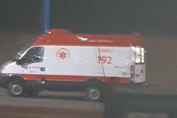 homem furta ambulância do samu em goiás