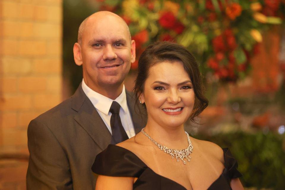 Maurício Valim e Danielle Lim