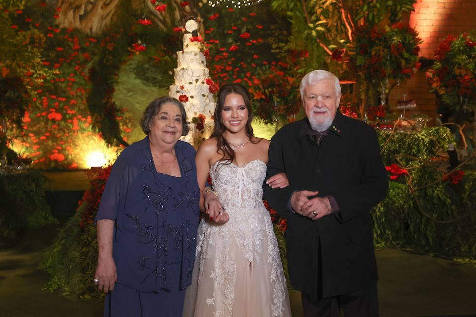 Maria Catarina, Maria Luiza Lim e Edson Sauguellis