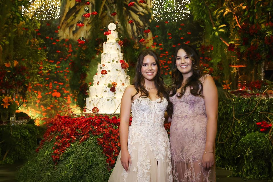 Maria Luiza e Samara Lim