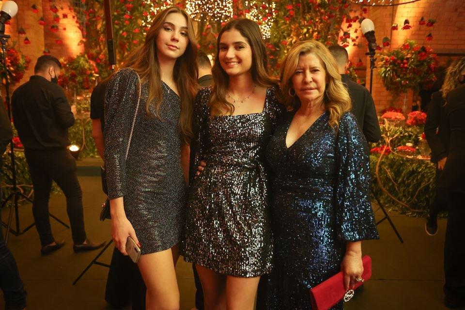 Paula Monrroy, Sophia Castro e Miranda Castro