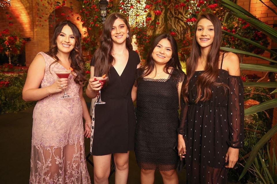 Samara Lim, Maria Luiza Cruz Oliveira, Kim Sive e Ana Júlia Fernandes