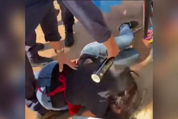 Guarda Civil Goiânia spray de pimenta