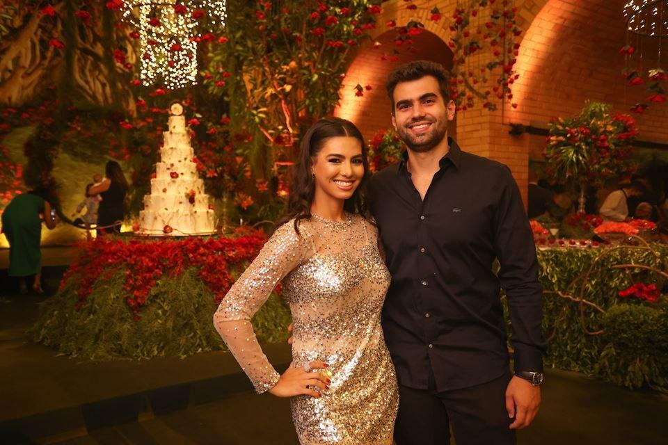 Isabella Lim e Felipe Alves