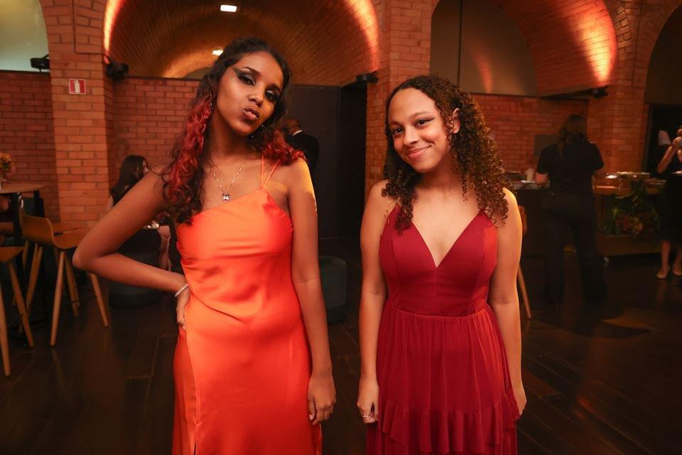 Alice Brites e Mariana Lima