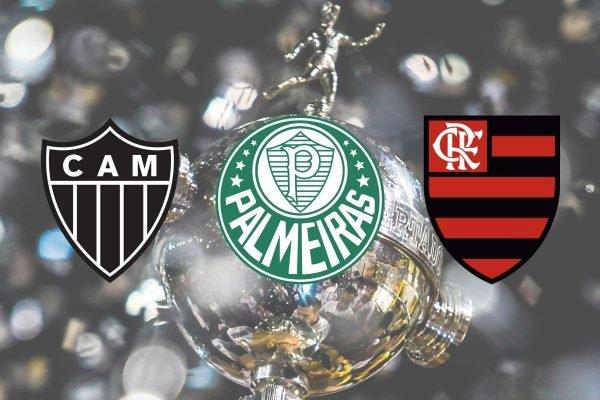 Atlético-MG, Palmeiras e Flamengo