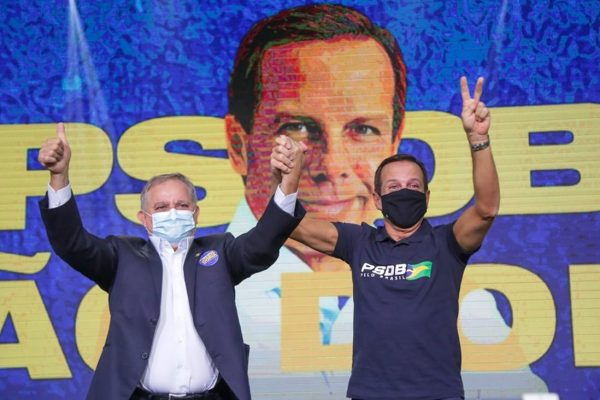 João Doria, governador de SP, é pré-candidato a presidente pelo PSDB