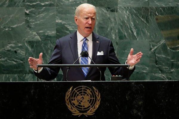 Joe Biden na assembleia da ONU