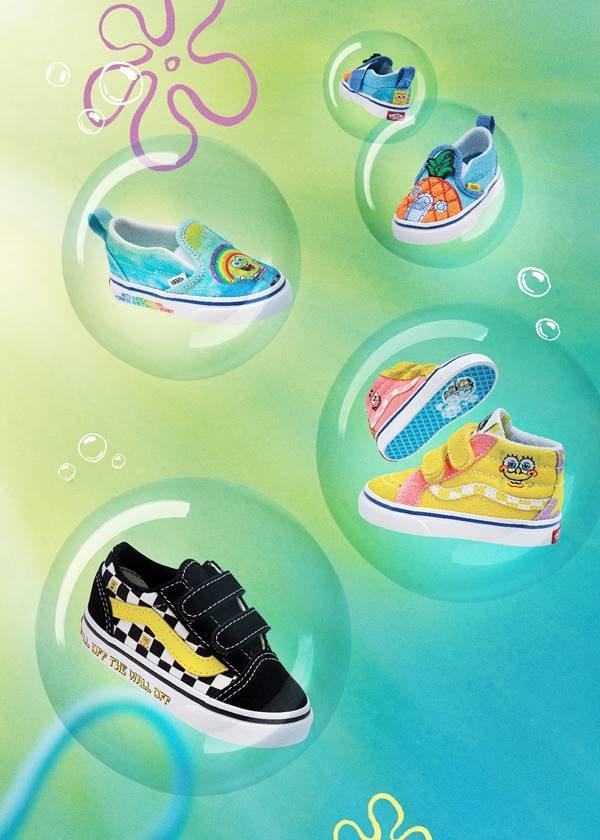 Tênis da Vans inspirados em Bob Esponja