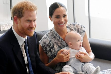 Príncipe Harry, Meghan Markle e Archie