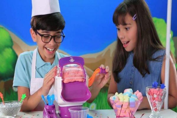 Máquina de sorvete infantil