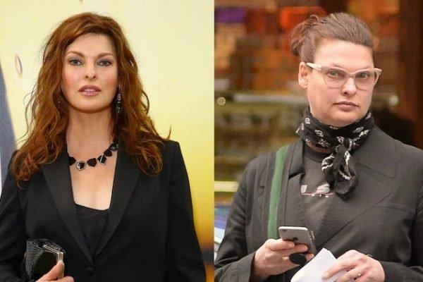 Linda Evangelista antes e depois