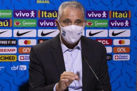 Técnico Tite, da Seleção Brasileira