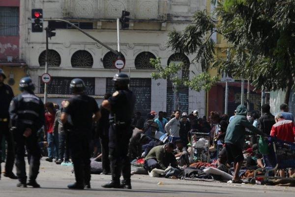 Operação da Polícia Civil na Cracolândia, no centro de São Paulo