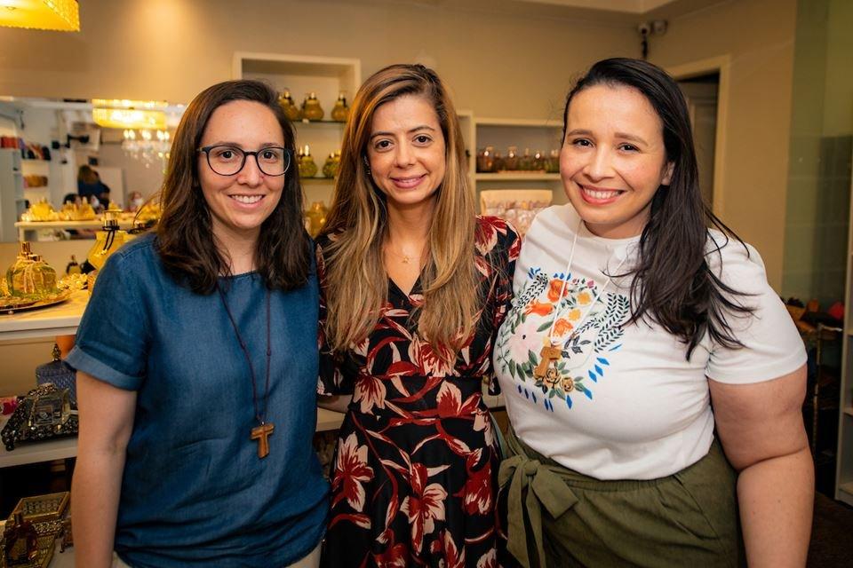 Débora Novaes, Isabela Luna e Adriana Segovia
