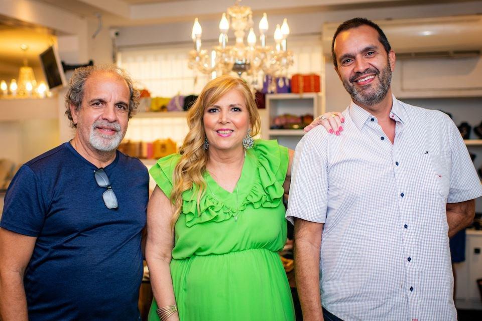 Luiz Mesquita, Simone Novaes e Ricardo Fleury