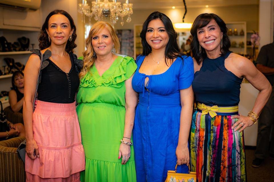 Claudia Meireles, Simone Novaes, Clarice Lagares e Cleucy Oliveira