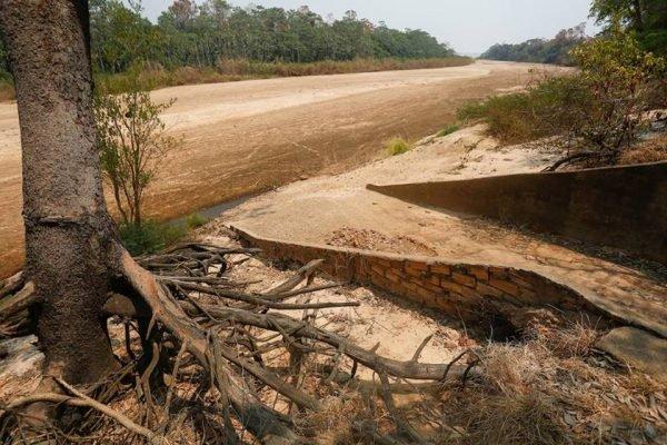 seca no rio araguaia