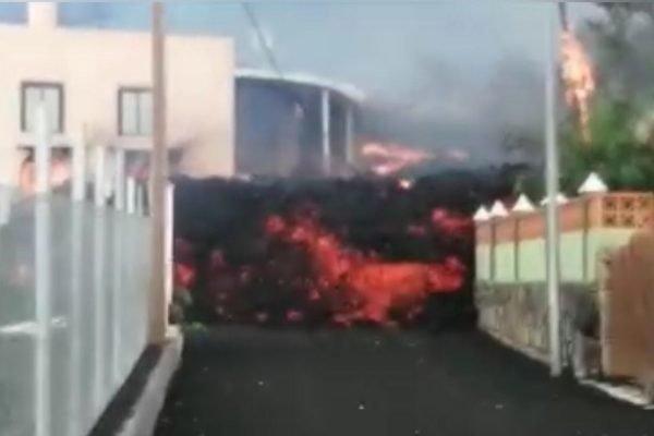 Vulcao La Palma Ilhas Canarias