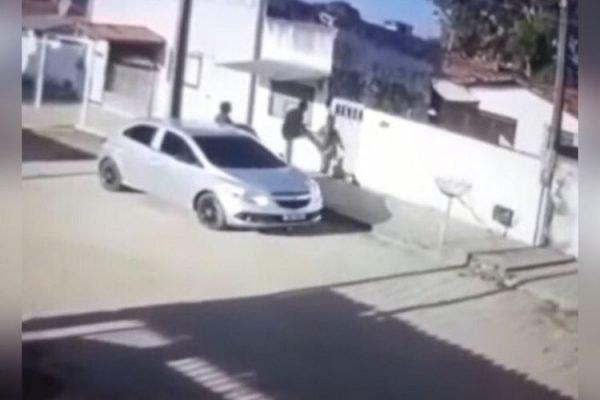 policial preso matar jovem