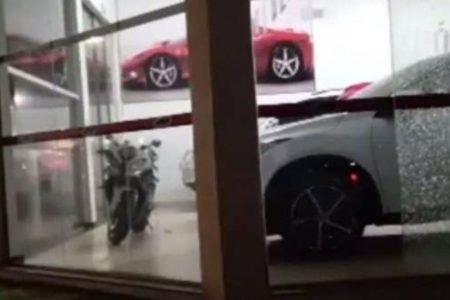 Tiros loja carros ponta pora