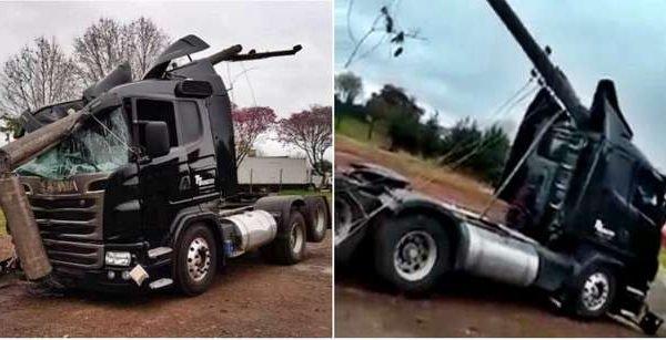 caminhoneiro acidente campo grande mato grosso do sul