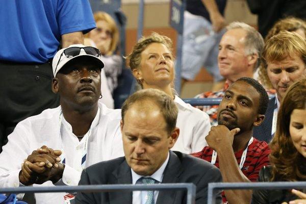 Michael Jordan e o Jeffrey Jordan