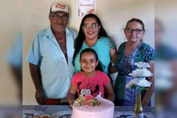 foto da família assassinada