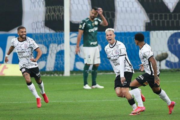 Corinthians Roger Guedes Palmeiras