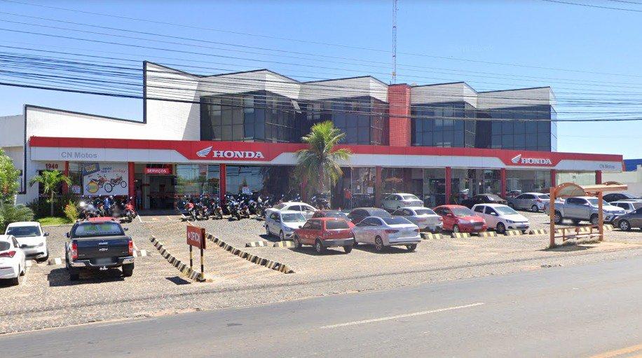Filial da CN Motos, em Teresina, onde também funciona, segundo a Junta Comercial, a Speed Marketing e a Speed Produtora