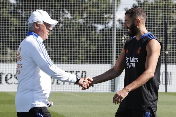 Real Madrid Ancelotti e Benzema