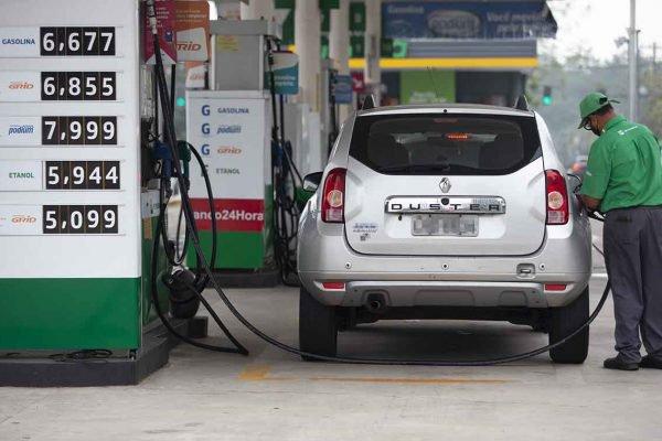 Posto de Gasolina - Combustível