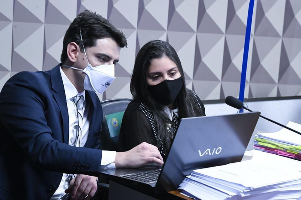 Bruna Morato presta depoimento à CPI