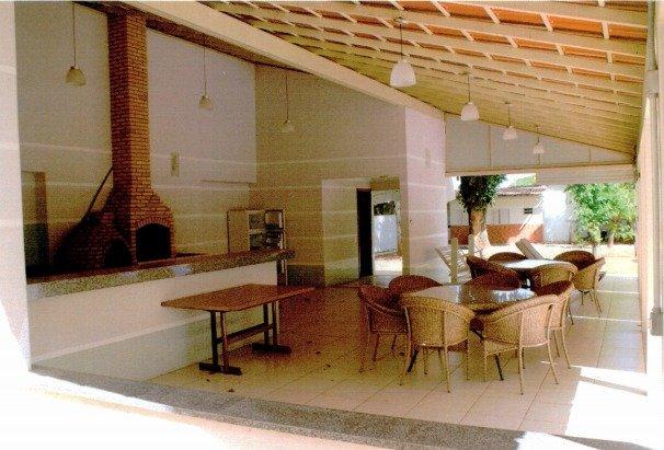Área de lazer do imóvel funcional que foi reformada pelo general José Ricardo Kümmel