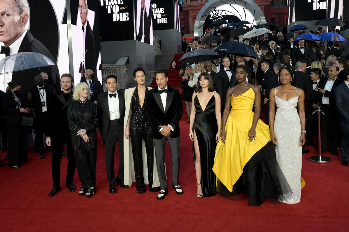 """""""No Time To Die"""" World Premiere - Red Carpet Arrivals"""