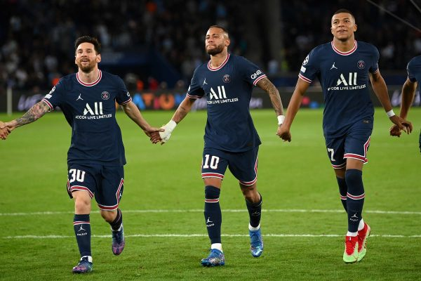 Paris Saint-Germain Messi Neymar e Mbappé