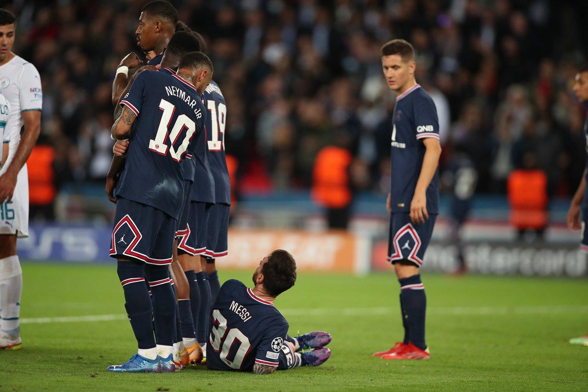 Paris Saint-Germain Messi Neymar