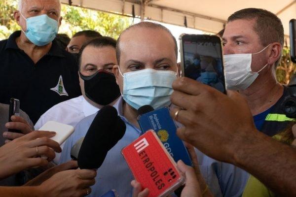 Governador Ibaneis Rocha participa do lançamento de obra do viaduto Paranoá/Itapoã