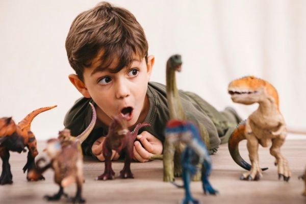 Brinquedos de dinossauros