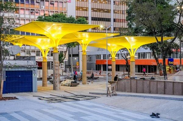 Reformada, praça no Setor Comercial Sul será reinaugurada na segunda-feira (4/10)
