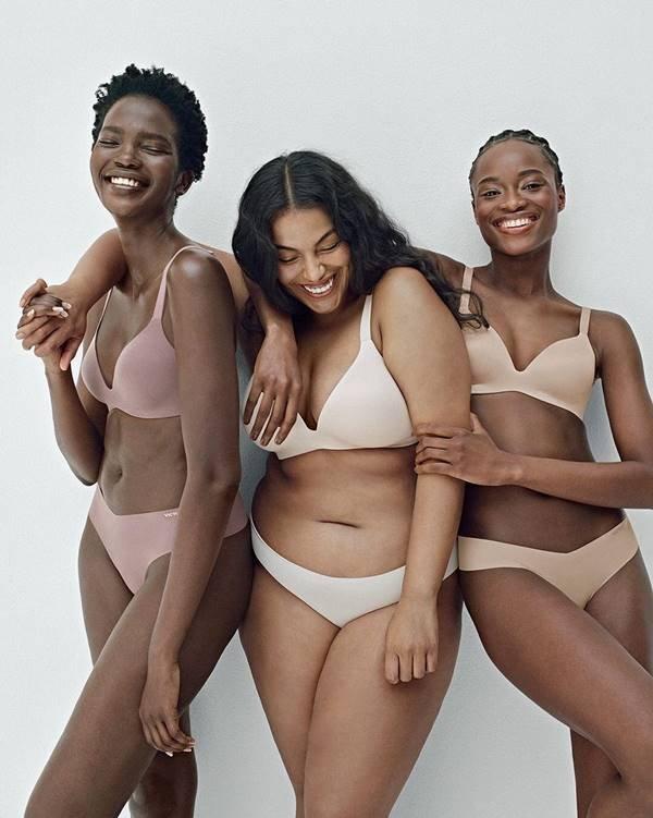 Modelos com peças da Victoria's Secret
